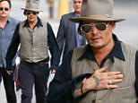 Johnny Depp seen arriving at ABC studios for Jimmy Kimmel Live\nFeaturing: Johnny Depp\nWhere: Los Angeles, California, United States\nWhen: 10 Sep 2015\nCredit: Michael Wright/WENN.com