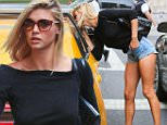 New York, NY - Blonde bombshell model and actress, Kelly Rohrbach takes a cab after a casting call at Marc Jacobs offices in New York.\nAKM-GSI      September 9, 2015\nTo License These Photos, Please Contact :\nSteve Ginsburg\n(310) 505-8447\n(323) 423-9397\nsteve@akmgsi.com\nsales@akmgsi.com\nor\nMaria Buda\n(917) 242-1505\nmbuda@akmgsi.com\nginsburgspalyinc@gmail.com