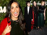 BEVERLY HILLS, CA - SEPTEMBER 09:  (L-R) Tallulah Willis, Demi Moore and Scout Willis arrive at the Salvatore Ferragamo 100 Years In Hollywood celebration at the newly unveiled Rodeo Drive flagship Salvatore Ferragamo boutique on September 9, 2015 in Beverly Hills, California.  (Photo by Amanda Edwards/WireImage)