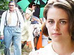 EXCLUSIVE: Kristen Stewart in retro costume on the set of Woody Allen's latest movie in Brookyln.\n\nPictured: Kristen Stewart\nRef: SPL1121030  090915   EXCLUSIVE\nPicture by: Splash News\n\nSplash News and Pictures\nLos Angeles: 310-821-2666\nNew York: 212-619-2666\nLondon: 870-934-2666\nphotodesk@splashnews.com\n