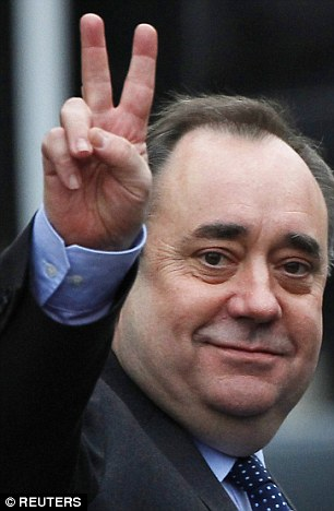 Alex Salmond was critcised for standing in Aberdeenshire rather than in Scotland's largest city