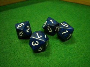 Speckled Stealth Dice