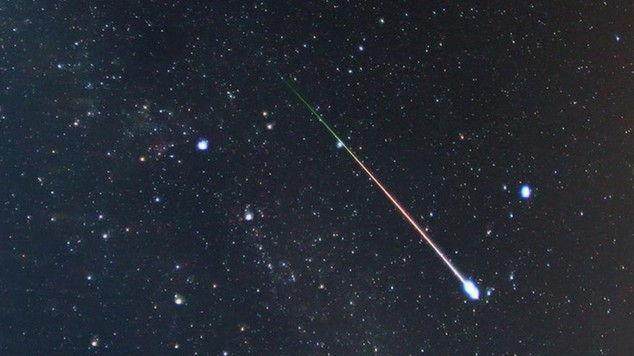Weather conditions are said to be near perfect for this year's Geminids meteor shower