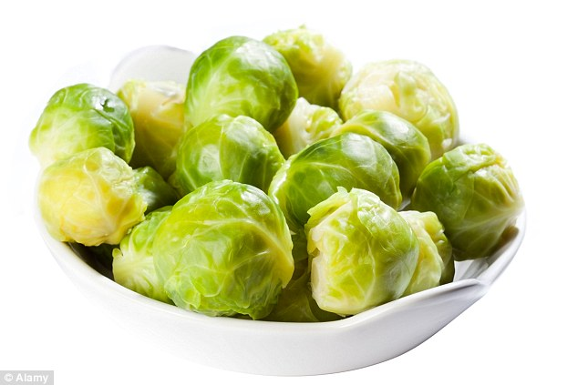 Concern: British families could be facing a shortage of Christmas favourite Brussels sprouts