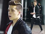 11 Sep 2015 - NEW YORK - USA *** EXCLUSIVE ALL ROUND PICTURES *** TEEN HEARTTHROB BROOKLYN BECKHAM CARRIES HIS LUGGAGE TO HIS CAR AND FLASHES HIS UNDERWEAR AS HE ARRIVES AT JFK AIRPORT IN NYC! BYLINE MUST READ : XPOSUREPHOTOS.COM ***UK CLIENTS - PICTURES CONTAINING CHILDREN PLEASE PIXELATE FACE PRIOR TO PUBLICATION *** **UK CLIENTS MUST CALL PRIOR TO TV OR ONLINE USAGE PLEASE TELEPHONE  44 208 344 2007**