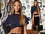 Mandatory Credit: Photo by WWD/REX Shutterstock (5065069n)  Jourdan Dunn  Topshop dinner for Ciara, Spring Summer 2016, New York Fashion Week, America - 10 Sep 2015