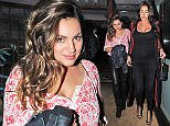 10.SEPTEMBER.2015 - LONDON - UK **EXCLUSIVE ALL ROUND PICTURES** KELLY BROOK OUT WITH FRIENDS ON A NIGHT OUT AT THE FAMOUS CELEBRITY HAUNT THE IVY CHELSEA GARDEN ON THE KINGS ROAD IN LONDON BYLINE MUST READ : XPOSUREPHOTOS.COM ***UK CLIENTS - PICTURES CONTAINING CHILDREN PLEASE PIXELATE FACE PRIOR TO PUBLICATION*** UK CLIENTS MUST CALL PRIOR TO TV OR ONLINE USAGE PLEASE TELEPHONE 0208 344 2007