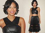 Celebrities front row at the BCBG Max Azria Spring/Summer 2016 Runway Show at New York Fashion Week. Held in The Arc at Skylight Moynihan in NYC\n\nPictured: Christina Milian\nRef: SPL1121483  100915  \nPicture by: Johns PKI / Splash News\n\nSplash News and Pictures\nLos Angeles: 310-821-2666\nNew York: 212-619-2666\nLondon: 870-934-2666\nphotodesk@splashnews.com\n