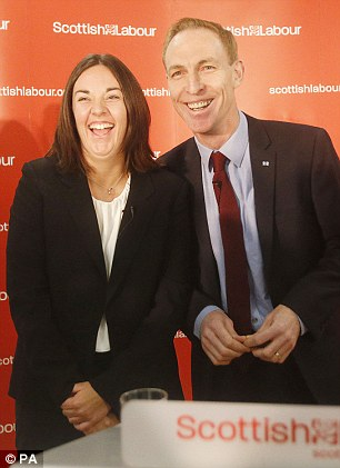 Jim Murphy (with new deputy leader Kezia Dugdale, above) has vowed to defeat 'arrogant' SNP leaders