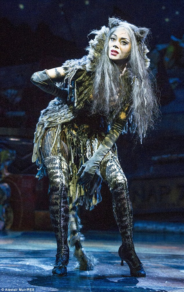 Busy bee: Nicole will perform in the West End show until February 2015, while Lewis jets off on holiday this Christmas