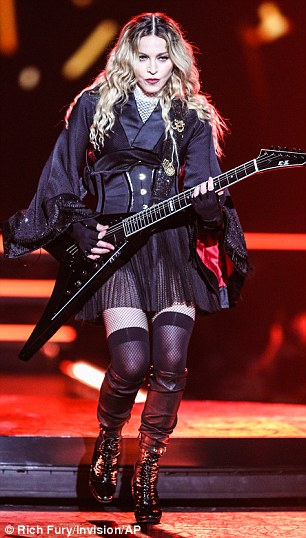 UK fans: Madge will perform for British fans during two dates at London's 02 Arena in December 2015