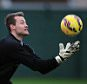 LIVERPOOL, ENGLAND - DECEMBER 12:  (THE SUN OUT, THE SUN ON SUNDAY OUT) Simon Mignolet of Liverpool during a training session at Melwood Training Ground on December 12, 2014 in Liverpool, England.  (Photo by Andrew Powell/Liverpool FC via Getty Images)