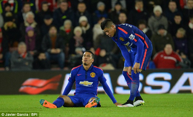 Manchester United stars including Chris Smalling and Marcos Rojo have missed parts of the season