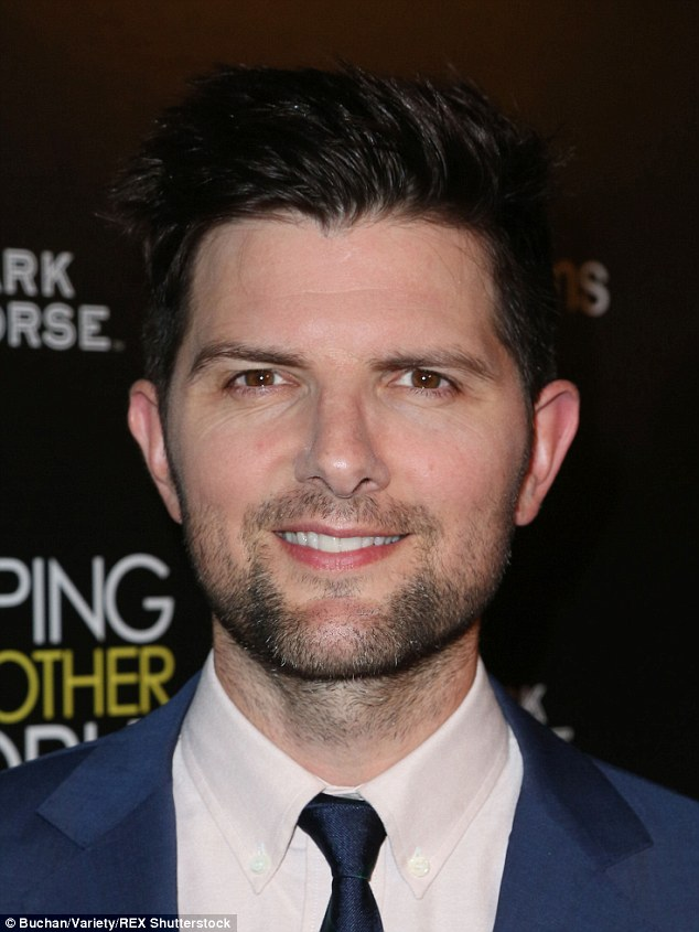 Stellar cast: Parks And Recreation star Adam Scott also appears in the independent film