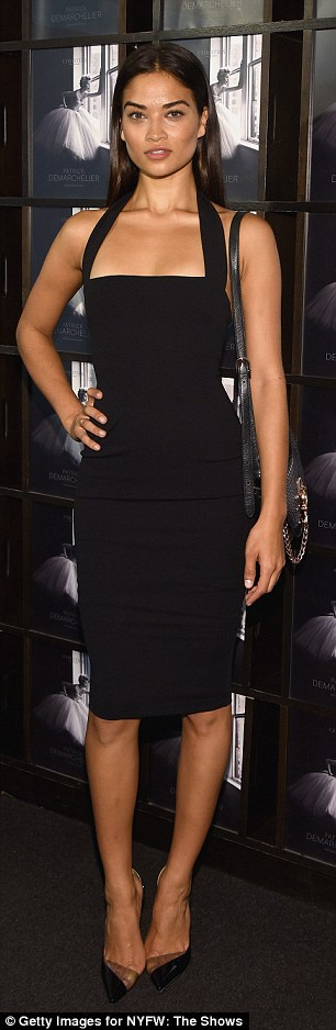 Shanina wowed in an LBD