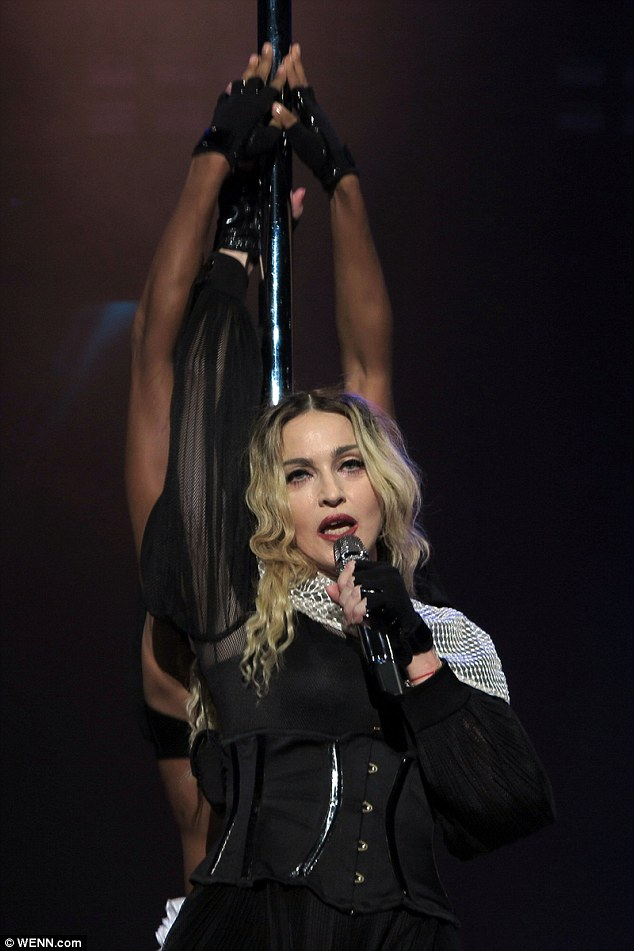 Takes to the stage:The lead up to Rebel Heart was beset by difficulties; most of the album was leaked online last December resulting in an emergency release of six tracks earlier than planned