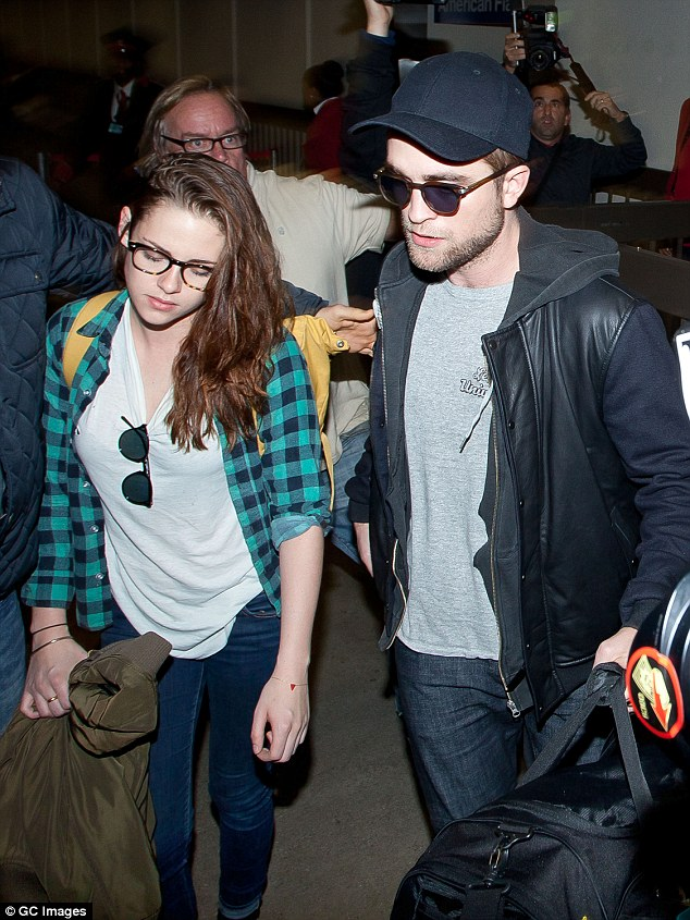 How they were: The former couple pictured here in November 2012 shortly before they split for good