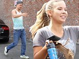 Hollywood, CA - Bindi Irwin and dance partner Derek Hough arrive to the Dancing With the Stars practice facility to get a jump start on their dance routines ahead of season 21.  Derek took the time to greet a fan and take a selfie with them.\nAKM-GSI       September 10, 2015\nTo License These Photos, Please Contact :\nSteve Ginsburg\n(310) 505-8447\n(323) 423-9397\nsteve@akmgsi.com\nsales@akmgsi.com\nor\nMaria Buda\n(917) 242-1505\nmbuda@akmgsi.com\nginsburgspalyinc@gmail.com