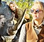 """Quotes:\nUma Thurman on what it was like to be so close to a wild creature of that size:\n¿I was so moved.  I was just breathing in the dearness of her.¿\n \nThurman on what the rescue experience is like:\n¿It¿s a spiritual, surreal experience, to have subdued, without stress, such a prehistoric animal.  To hear its deep breaths, to smell it, to touch its skin ¿ even a rhino has soft bits.  To see how delicate they really are, how vulnerable.  There is the obvious excitement of it all, but also a quietness in the midst of all the panic.¿ \n \nOn what she learned from this experience and why she believes in making an effort and how there is hope:\n¿I think so many of us feel that there is no point ¿ Who are we? What can we do?  There are so many dire situations, and it¿s all out of our control.  And there is sort of truth to that.  But what I learned in Africa is that one must make an effort anyway.  Because you just don¿t know.  Until the story is concluded, there is always hope.""""\n \"""