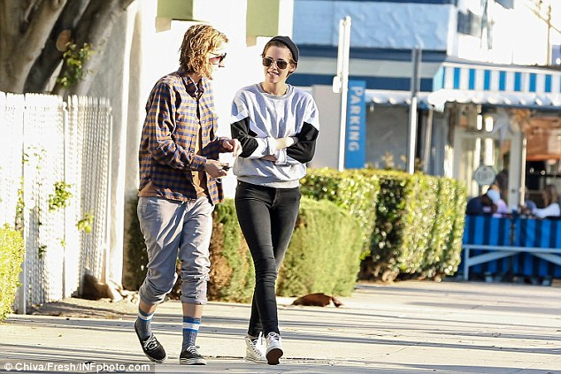 Struggling: A source told Hollywood Life that Kristen had become 'very jealous' of the British singer