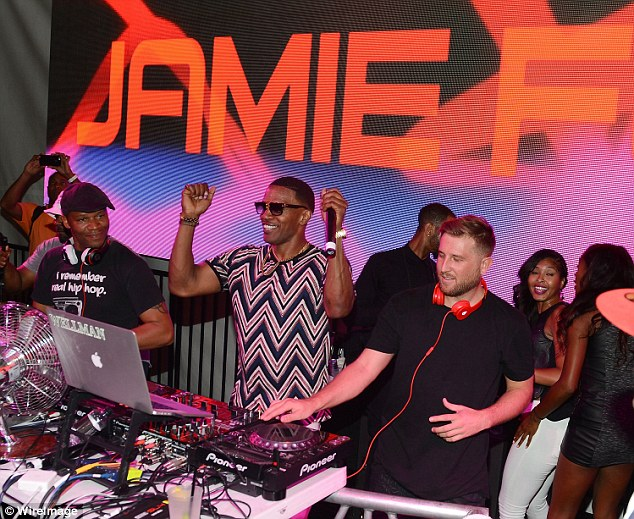 She likes the tunes he makes:It was added the Dawson's Creek vet also 'supported' Foxx after he had a gig at the SLS hotel in Las Vegas on August 22
