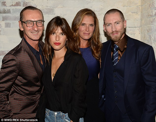 Other guests:They were also joined by Bruno Frisoni, Jeanne Damas, Brooke Shields and Justin O'Shea