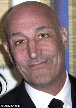 The bull was  saved by fundraisers including Simpsons co-creator Sam Simon (pictured)
