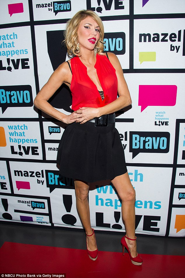 Reality star: Brandi currently stars in the fifth season of The Real Housewives Of Beverly Hills, her third season overall