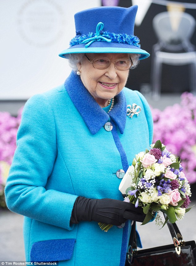 Queen Elizabeth II officially opens the Borders Railway in Scotland on the day she became Britain's longest reigning monarch