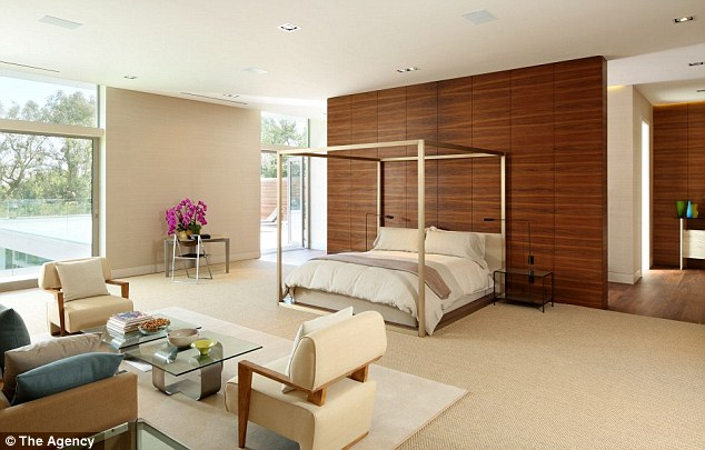 Wake up like this: The master suite is expansive but everyone gets the royal treatment with all suite size
