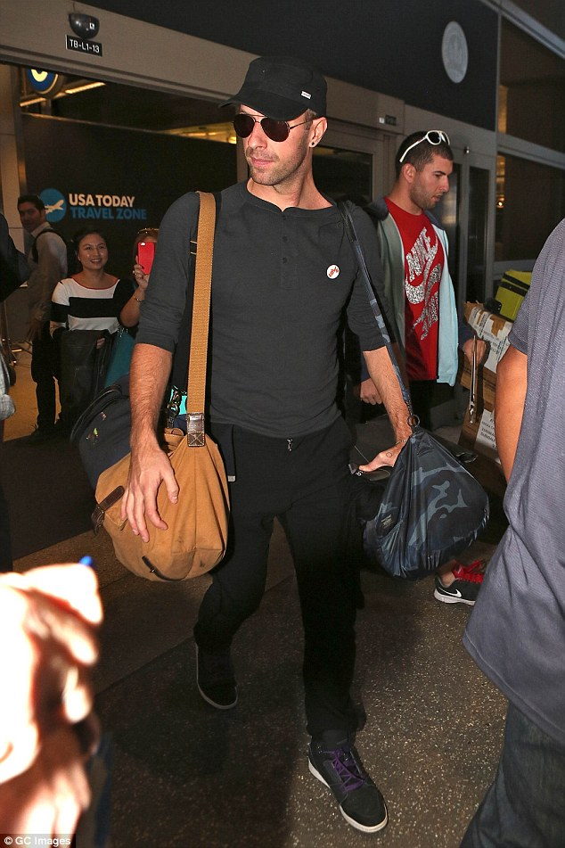Is the end nigh?The sighting comes after he shocked fans by hinting an end to Coldplay's recording career