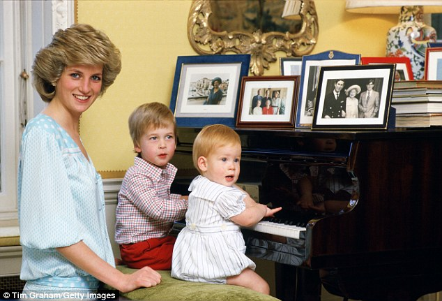 In 1993 Mr McGrady moved to Kensington Palace to work as the private chef to Princess Diana, Prince William and Prince Harry