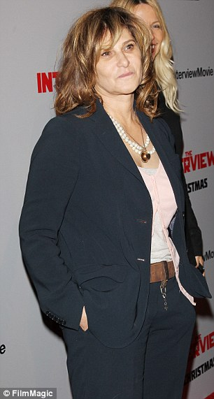 Out of a job? Amy Pascal is the co-chairman of Sony Pictures Entertainment, and may lose her job over emails leaked online in the recent company hack. Pictured above at the Los Angeles premiere of film The Interview