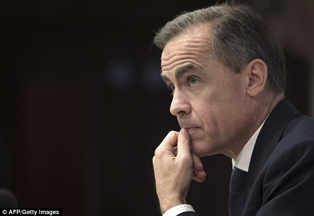 Decision time: Mark Carney has insisted that the next move in interest rates is most likely to be up