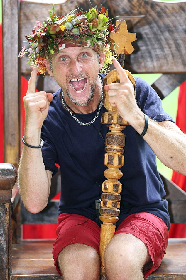 From the jungle to Hollywood! I'm A Celebrity winner Carl 'Foggy' Fogarty is reportedly being considered by film producers to star in a new biker movie