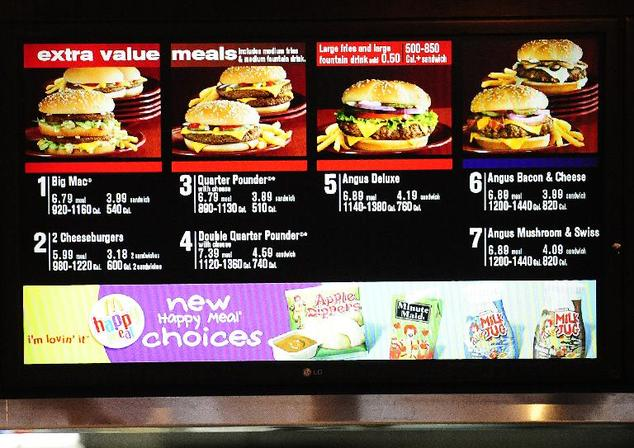 McDonald's is betting that a slimmed-down menu and a push toward greater customization will help it reverse a troubling decline in sales in the US