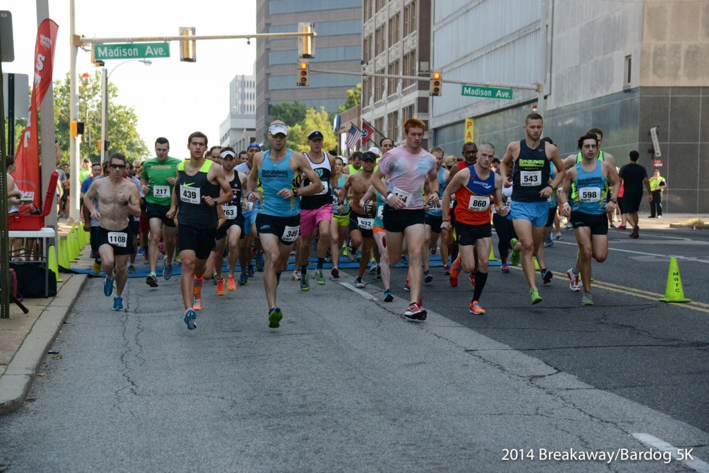 Breakaway Bardog 5k start