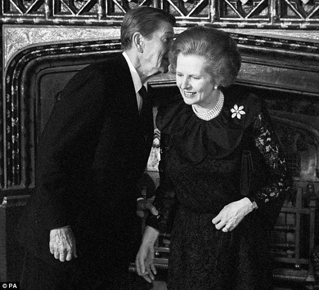 The sensibilities of the millions of people who respect Margaret Thatcher, pictured here with former US President Ronald Reagan, have been ignored