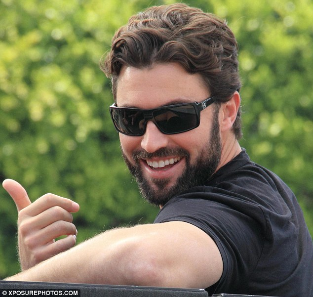 A lot of fun: No doubt Brody would have loved to have sneaked onto a movie set to try and land a role