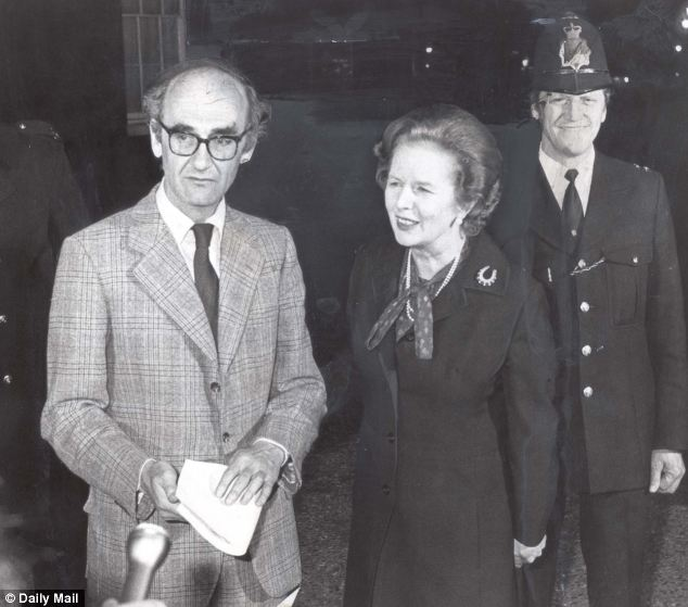 'Magnetic': Former Defence Minister John Nott was in thrall to Margaret Thatcher