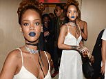 Mandatory Credit: Photo by WWD/REX Shutterstock (5065070l)\n Rihanna\n Rihanna hosts NYFW party, Spring Summer 2016, New York Fashion Week, America - 10 Sep 2015\n \n