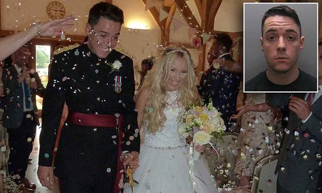 Sandhurst officer's wife stands by him after he is given seven years for rape
