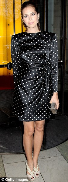 Dasha Zhukova attends the private view of exhibition 'Grace Kelly: Style Icon'
