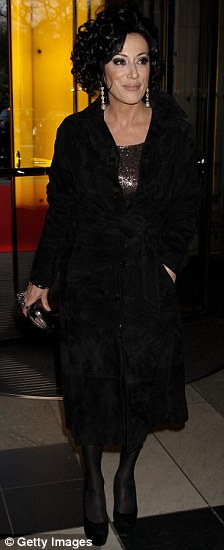 Nancy Dell'Olio attends the private view of exhibition 'Grace Kelly: Style Icon'