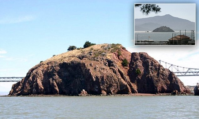 Red Rock Island in San Francisco Bay could be yours for $5m
