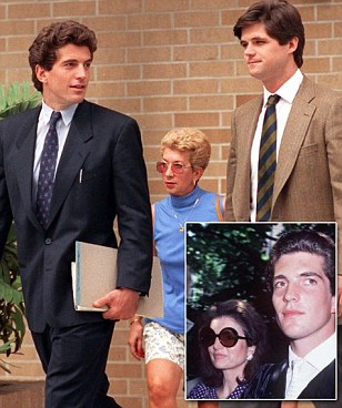 JFK Jr was forced to support William Kennedy Smith due to blackmail threat