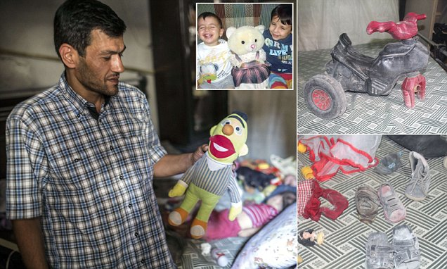 Aylan Kurdi's father returns to family home they left after ISIS attack