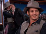 Actors Johnny Depp and Katheryn Hahn visit with Jimmy. Mutemath performs as musical guest.