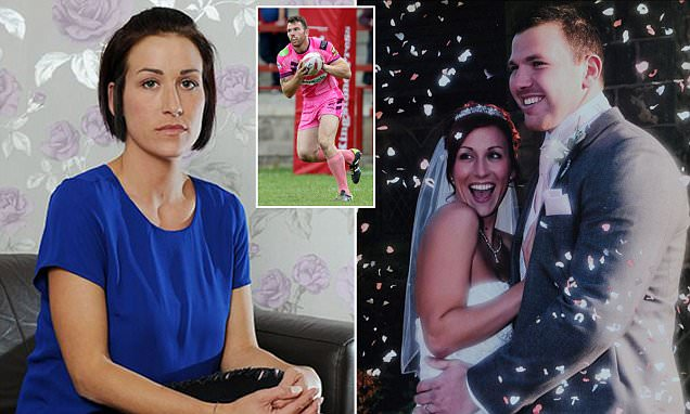 Gay rugby star Keegan Hirst's wife Sara opens up about her reaction to his sexuality