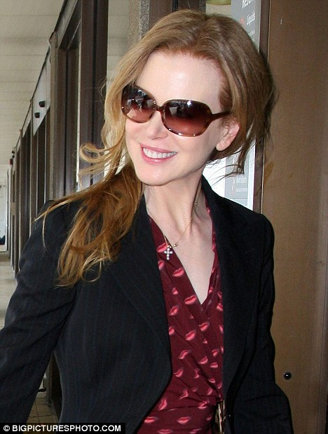 Busy 2011 ahead: After Christmas, Kidman will be hard at work promoting her new film Rabbit Hole